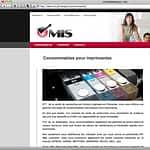 MIS.pf website