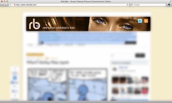 Robin Bal blog header