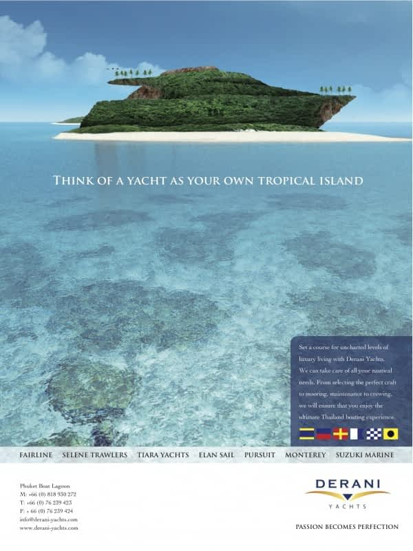 Derani Yacht Island Boat