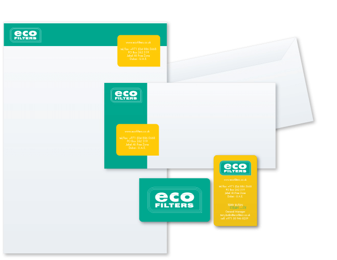 eco filter Stationery