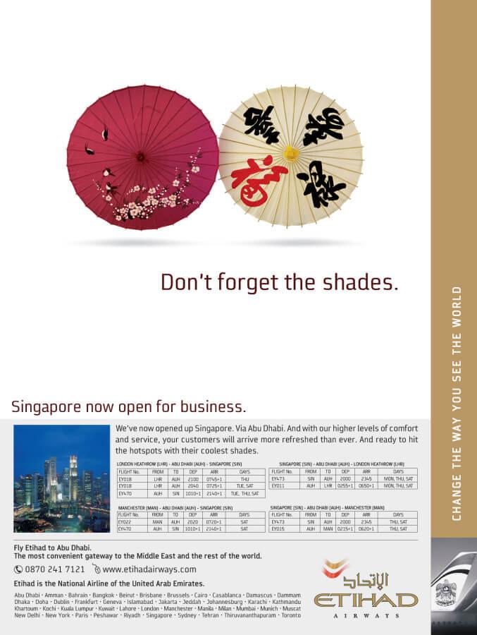 Etihad Singapore
